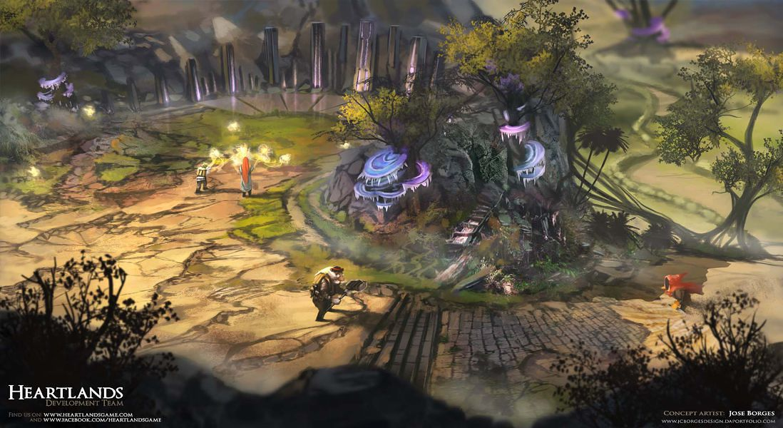 Creating Compelling Environments For Concept Art